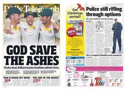 The Daily Telegraph (Sydney) – December 19, 2017