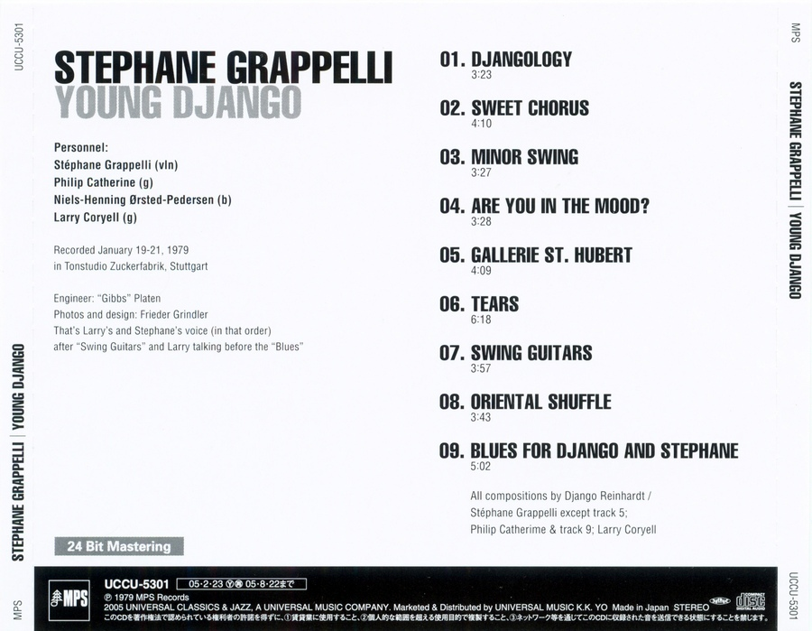 Stephane Grappelli Young