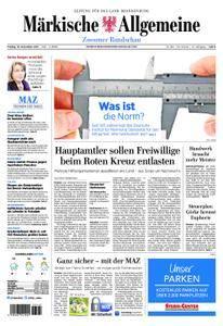 Märkische Allgemeine Zossener Rundschau - 10. November 2017