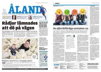 Ålandstidningen – 13 september 2018