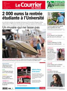 Le Courrier de l'Ouest Cholet – 20 août 2019
