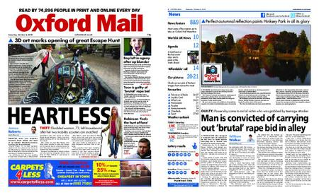 Oxford Mail – October 06, 2018