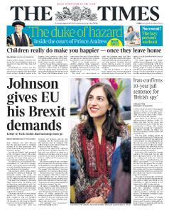 The Times - 20 August 2019