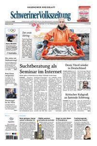 Schweriner Volkszeitung Hagenower Kreisblatt - 17. Februar 2018
