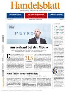 Handelsblatt - 28. August 2018