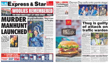 Express and Star City Edition – January 04, 2019