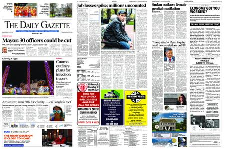 The Daily Gazette – May 01, 2020