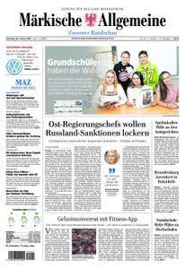 Märkische Allgemeine Zossener Rundschau - 30. Januar 2018