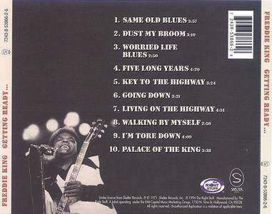 Freddie King - Getting Ready... (1971) {1996 The Right Stuff}