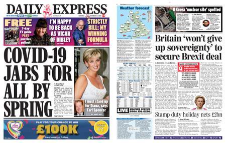 Daily Express – November 21, 2020