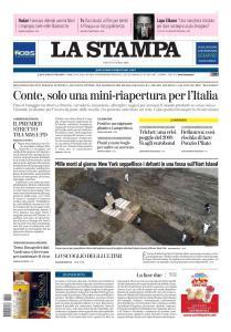 La Stampa Torino Provincia e Canavese - 11 Aprile 2020