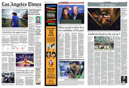 Los Angeles Times – April 03, 2019