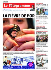 Le Télégramme Brest – 23 août 2019