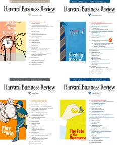 All editions of Harvard Business Review Year 2004