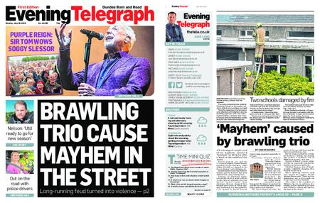 Evening Telegraph First Edition – July 29, 2019