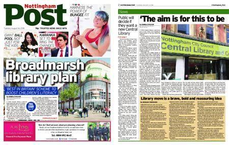 Nottingham Post – August 14, 2018