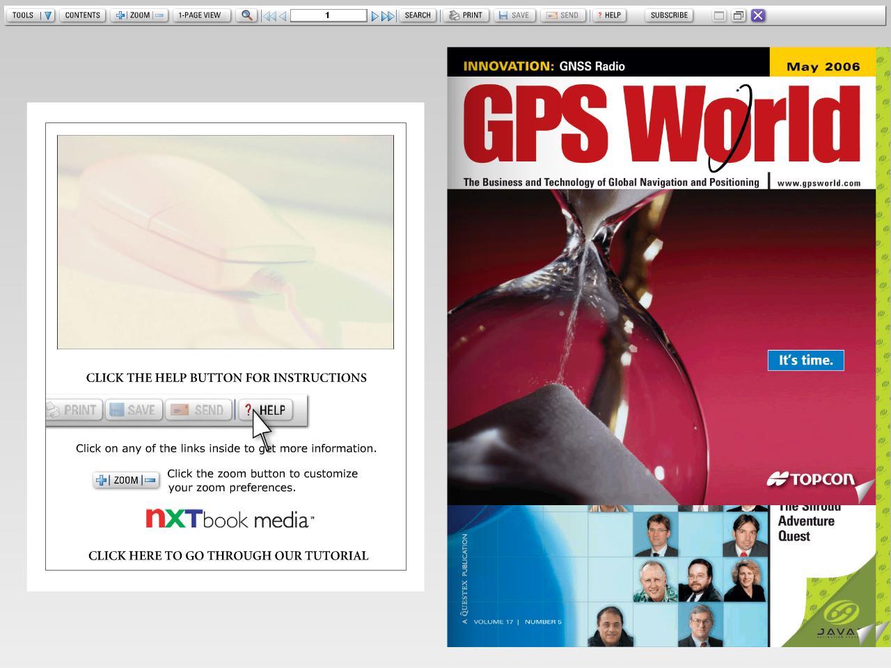 GPS World May 2006