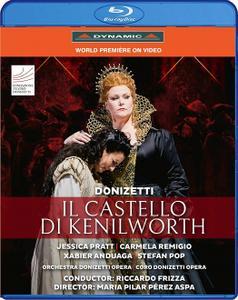 Riccardo Frizza, Orchestra Donizetti Opera - Donizetti: Il Castello di Kenilworth (2019) [BDRip]