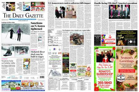 The Daily Gazette – December 23, 2017