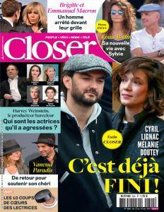 Closer France - 13 Octobre 2017