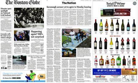 The Boston Globe – September 19, 2018