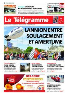 Le Télégramme Quimper – 24 octobre 2020