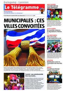 Le Télégramme Guingamp – 15 septembre 2019