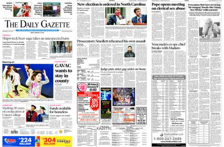 The Daily Gazette – February 22, 2019