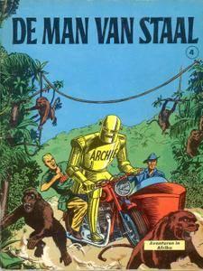 Archie De Man Van Staal - 04 - Avonturen In Afrika
