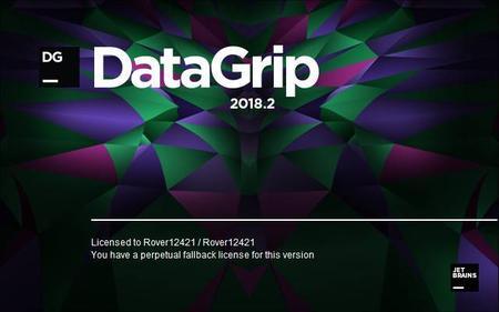 JetBrains DataGrip 2018.2.4 (Mac/Lnx)
