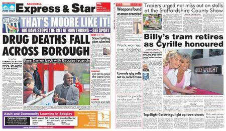 Express and Star Sandwell Edition – April 09, 2018