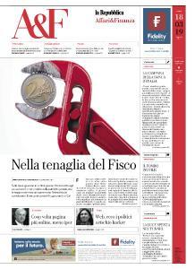 La Repubblica Affari & Finanza - 18 Marzo 2019