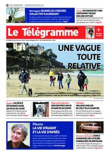 Le Télégramme Ouest Cornouaille – 04 avril 2021