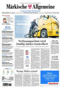 Märkische Allgemeine Luckenwalder Rundschau - 14. Juni 2019