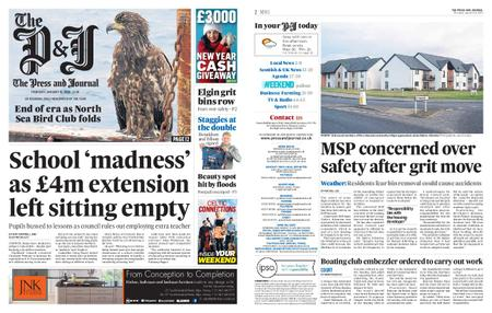 The Press and Journal Moray – January 16, 2020