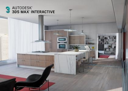 Autodesk 3ds Max Interactive 2020 version 2.3.0.0