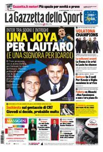 La Gazzetta dello Sport Roma – 19 marzo 2019