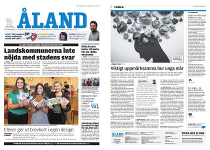 Ålandstidningen – 29 augusti 2019