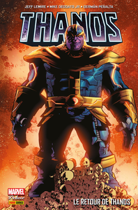 Thanos - Tome 1 - Le Retour de Thanos (Panini-Marvel Deluxe)