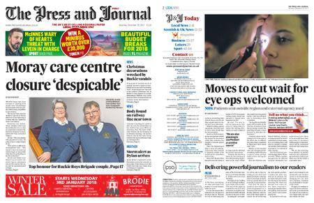 The Press and Journal Moray – December 30, 2017