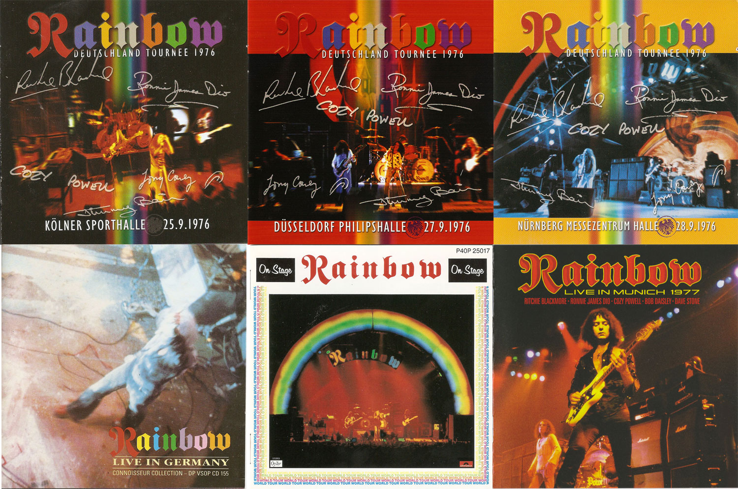 Rainbow: Live Albums Collection (1976-1977) Re-up / AvaxHome