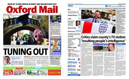 Oxford Mail – June 18, 2018