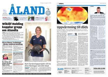 Ålandstidningen – 21 augusti 2018