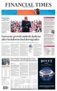 Financial Times Europe - November 2, 2020