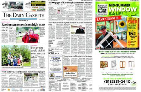 The Daily Gazette – September 04, 2018