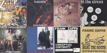 Frank Zappa & The Mothers Of Invention - Beat The Boots, Vol II (1992) {Rhino R2 71017~023 rec 1968-1978}