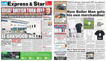 Express and Star City Edition – August 21, 2018