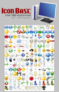 Icon Base - Over 1000 Vector Icons