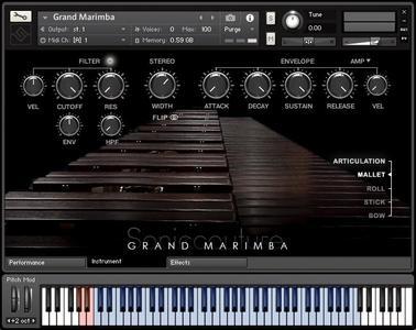 Soniccouture Grand Marimba v2.0.0 KONTAKT