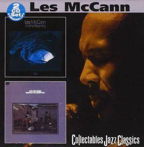 Les McCann - Another Beginning & Hustle To Survive (2000) [2CDs] {Collectables}